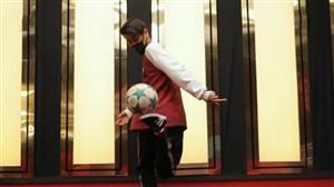 حرکات نمایشی بچه های افغان در برنامه عصر جدید
