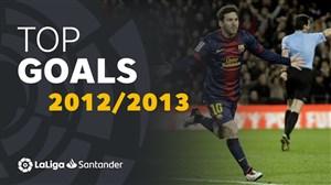 برترین گلهای لالیگا در فصل 2013-2012