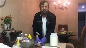 آشپزی در روزهای قرنطینه با دکتر صدر کارشناس فوتبال