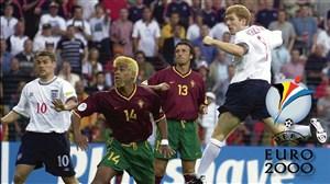 بازی خاطره انگیز پرتغال - انگلیس در یورو 2000