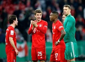 5 گل برتر بایرن مونیخ به آینتراخت فرانکفورت