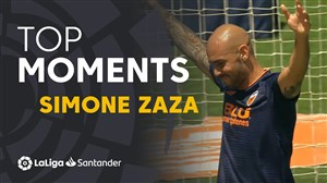 برترین لحظات سیمونه زازا در لالیگا
