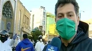 حضور فوتبالیست های قدیمی ایران در مبارزه علیه کرونا