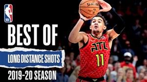 برترین گلهای از راه دور تماشایی NBA در فصل 20-2019
