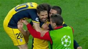 سالگرد گل زیبای دیهگو به بارسلونا لیگ قهرمانان اروپا 2014