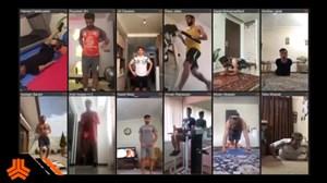 پیگیری آنلاین صادقی از تمرینات تیم جوان سایپا