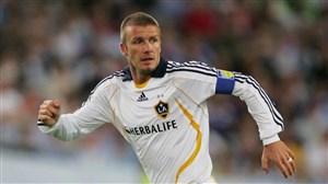 اولین گل دیوید بکهام برای ال ای گلکسی در لیگ MLS