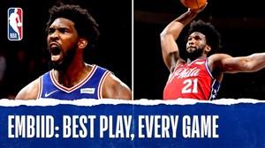 برترین حرکات خوئل امبید در لیگ حرفهای بسکتبال NBA