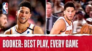 برترین حرکات دوین بوکر در لیگ حرفهای بسکتبال NBA