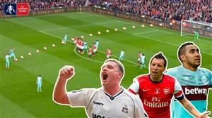 مهارنشدنیترین ضربات ایستگاهی در جام حذفی انگلیس