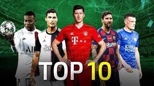 10 بازیکن برتر فوتبال اروپا در فصل 2019/20