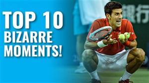 10 اتفاق جالب و عجیب در مسابقات تنیس