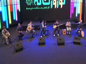 اجرای آهنگ شاد کردی گروه ژوانا در سایت آنتن