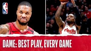 برترین حرکات دامیان لیلارد در لیگ حرفهای بسکتبال NBA