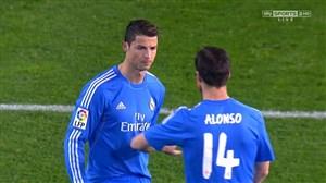درخشش رونالدو مقابل والنسیا در سال 2013