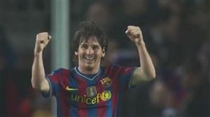 پوکر فوق العاده مسی مقابل آرسنال لیگ قهرمانان اروپا 2010