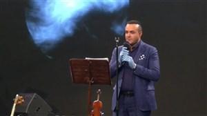 اجرای آهنگ ماه خجالتی سینا سرلک در سایت آنتن