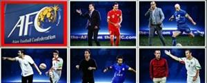 برترین مربی بازیکن های آسیا در رای گیری صفحه AFC