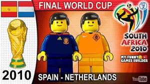 شبیه سازی فینال جام جهانی 2010 با لگو