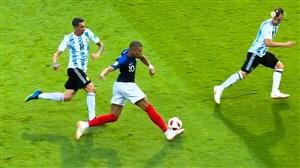 درخشش خاطره انگیز امباپه مقابل تیم ملی آرژانتین