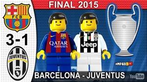 فینال لیگ قهرمانان اروپا در سال 2015 به روایت لگو