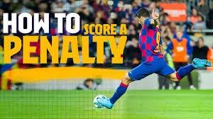 انواع پنالتی به سبک بازیکنان بارسلونا