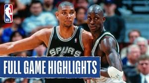 اولین تقابل کوین گارنت و تیم دانکن در NBA
