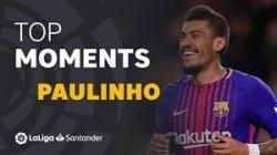 برترین لحظات پائولینیو در لالیگا