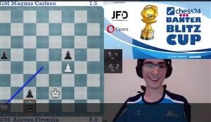 علیرضا فیروزجا قهرمان بنتر بلیتز کاپ شطرنج شد