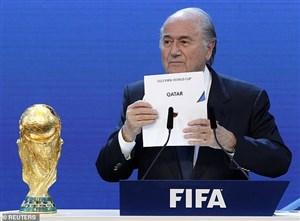 ادعای عجیب بلاتر: آمریکا میزبان جام جهانی 2022