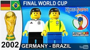 شبیه سازی فینال جام جهانی 2002 با عروسک لگو