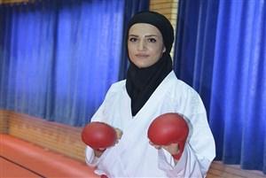 شیما آل سعدی قهران کاراته و درخواست او از مردم برای ماندن در خانه