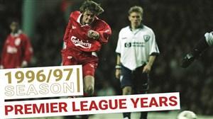 تمامی گلهای لیورپول در لیگ برتر جزیره (1996/97)