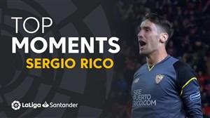 برترین مهارهای سرجیو ریکو سنگربان تیم سویا