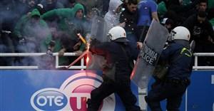 نقض قرنطینه و درگیری هواداران پائوک با پلیس یونان