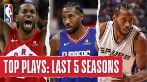 برترین لحظات لئونارد در لیگ حرفهای بسکتبال NBA