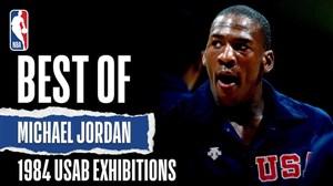 برترین لحظات مایکل جردن در لیگ حرفهای بسکتبال NBA