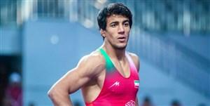 شکست سنگین گرایی برابر قهرمان المپیک