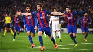 کامبک خاطرهانگیز بارسلونا 6 - پاری سن ژرمن 1