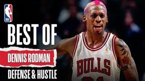 برترین لحظات رودمن در لیگ حرفهای بسکتبال NBA