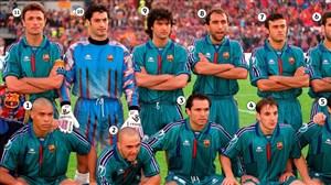 دیدار خاطره انگیز پاری سن ژرمن - بارسلونا ( 1997 )