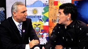 مارادونا از دست رفت؛ مثل سابق دوستش ندارم