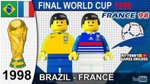 شبیه سازی فینال جام جهانی 98 با لگو