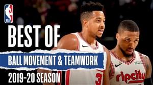 بهترین کارهای تیمی بسکتبال NBA در فصل 20-2019