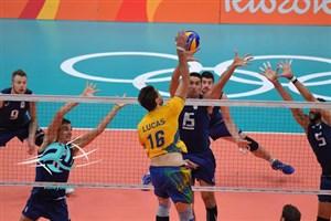 ایتالیا - برزیل فینال المپیک ریو2016