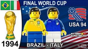 فینال جام جهانی 1994 آمریکا به روایت لگو
