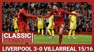 لیورپول 3 - ویارئال 0 (نیمه نهایی یورولیگ 2016)