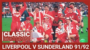 لیورپول 2 - ساندرلند 0 ؛ فینال جام حذفی انگلیس 1992