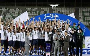 جشن قهرمانی و صعود گلگهر سیرجان به لیگ برتر