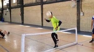 مهارتهای پیام نیازمند در تنیس فوتبال